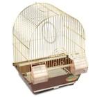 Клетка Triol  N 2100A для птиц, золото, 30*23*39 см
