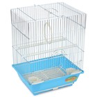 Клетка Triol  N 2105 для птиц, цинк, 30*23*39 см