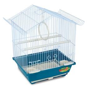 Клетка Triol  N 2118 для птиц, цинк, 30*23*39 см