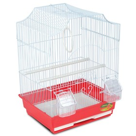 Клетка Triol  N YD 4002-G для птиц, золото, 35*28*46 см