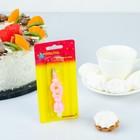 Свеча восковая для торта незадуваемая