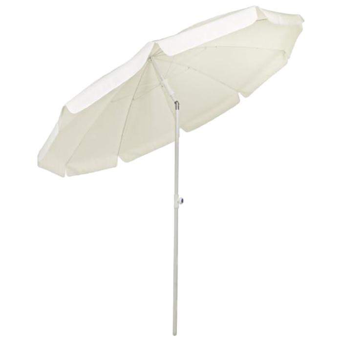 Пляжный зонт «КАЛЬЯРИ», 2,2 м, цвет бежевый, 5790204