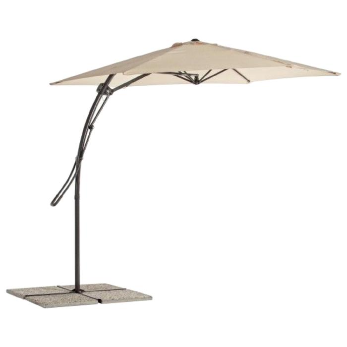 """Пляжный зонт """"МИЛАН"""", 3м, цвет бежевый 0795326"""