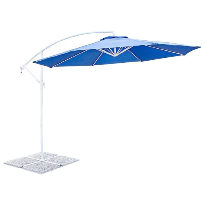 Пляжный зонт «АРЕЦЦО», 3 м, цвет синий, 0795169