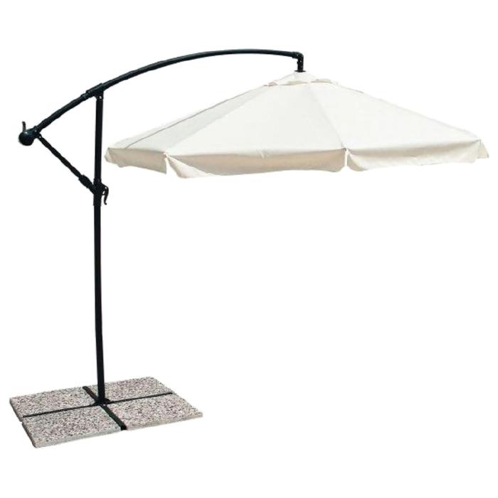 Пляжный зонт «ПАРМА», 3 м, цвет слоновая кость, 0795097