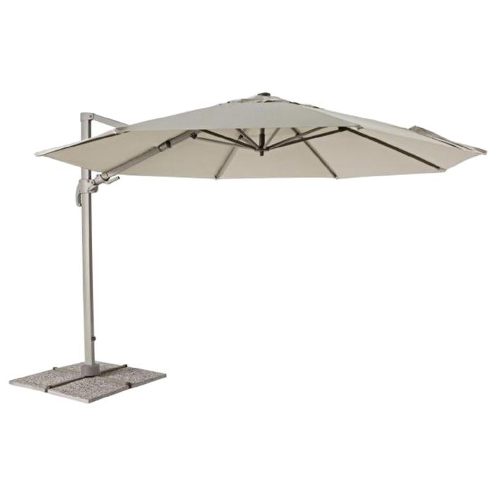 Пляжный зонт «ЛЕЧЧЕ», 3,5 м, цвет молочный, 0795361