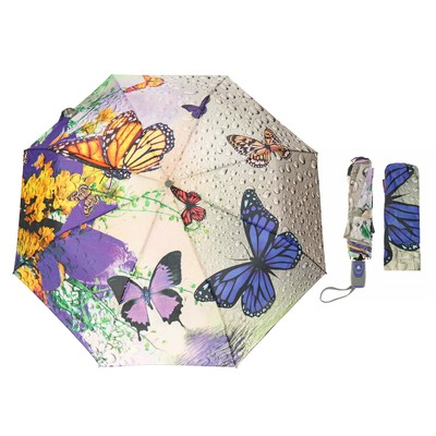 Зонт полуавтоматический №3, r=50см