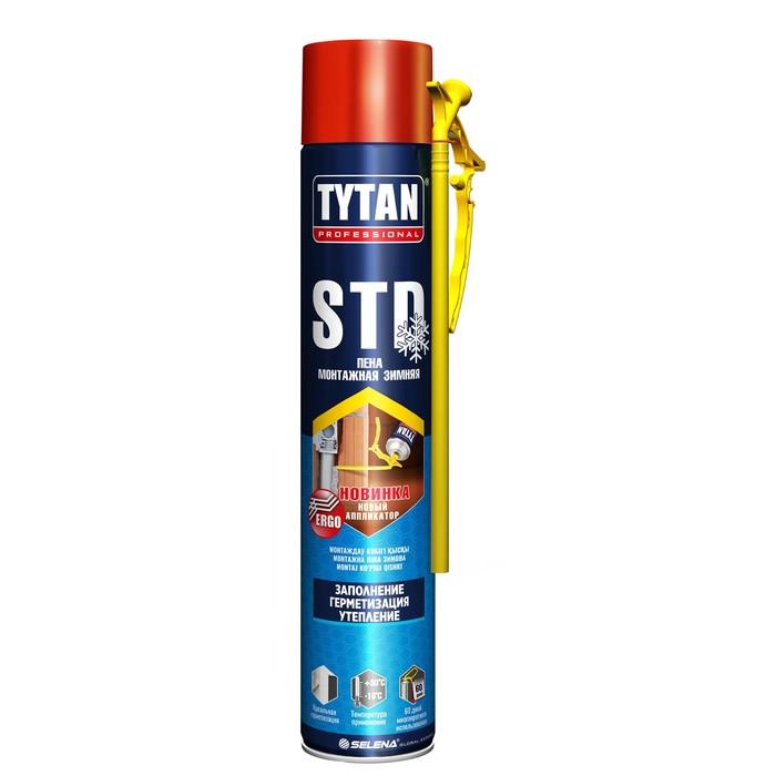 Пена монтажная Tytan STD ЭРГО, зимняя, 750 мл