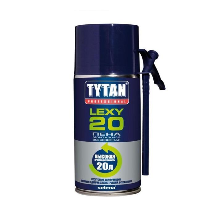 Пена монтажная Tytan Professional Lexy 20, всесезонная, 300 мл, до 20 л