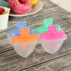 """Форма для мороженого """"Совята"""", 4 ячейки, цвета МИКС"""