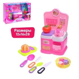Игровой модуль мини-кухня «Карамель», световые эффекты