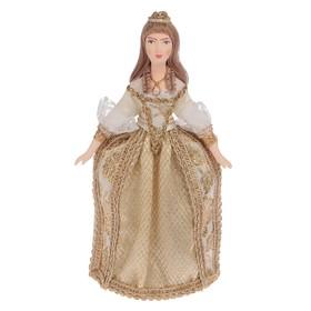 Сувенирная кукла 'Золушка. Костюм по мотивам фр. моды 1-ой пол. 18-го в.' 26 см Ош