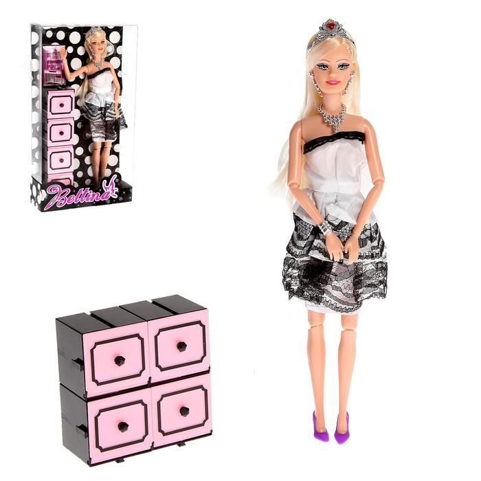 Кукла модель шарнирная «Даша» в платье с аксессуарами