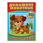 Аппликации для малышей 3D. Домашние животные (210*285мм, 16стр.)