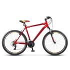"""Велосипед 26"""" Десна-2610 V, V010, цвет красный/чёрный, размер 20"""""""