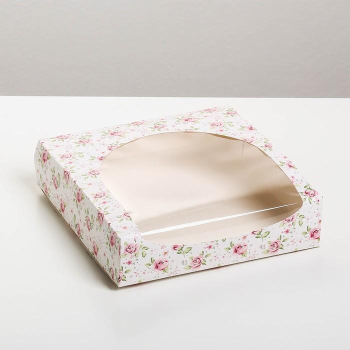 Упаковка для кондитерских изделий «Хорошего дня», 20 × 20 × 5 см