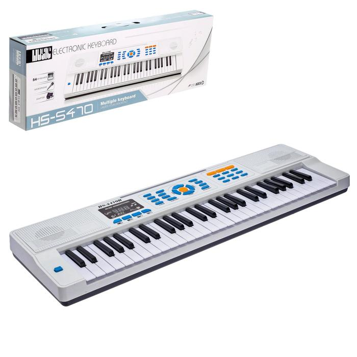 Синтезатор «Нотка» с микрофоном, 54 клавиши
