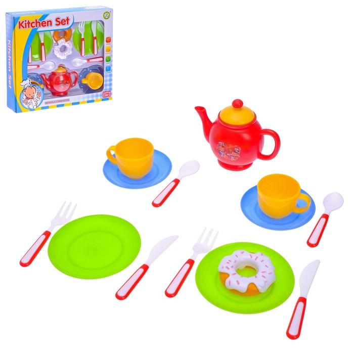 """Набор посуды """"Чаепитие"""",14 предметов"""