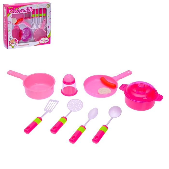 """Набор посуды """"Нежность"""", 10 предметов - фото 105579805"""