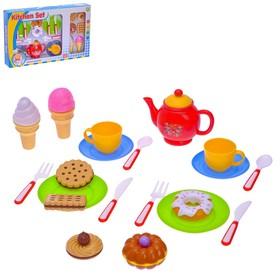 """Набор посуды с продуктами """"К чаю"""", 20 предметов"""