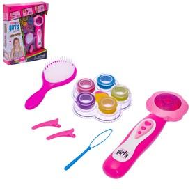"""Набор для плетения волос """"Цветочек"""" с аксессуарами и аппаратом для плетения"""