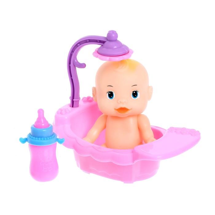 """Пупс """"Малыш"""" в ванной с аксессуарами"""