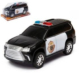 Джип инерционный «Департамент Полиции»
