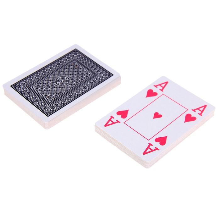 """Карты для покера """"Joker"""", пластиковое покрытие"""