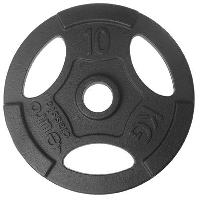 Диск чугунный, окрашенный 10 кг (диаметр 50мм)
