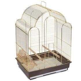 Клетка Triol  N 9100 для птиц, золото, 42*30*56 см