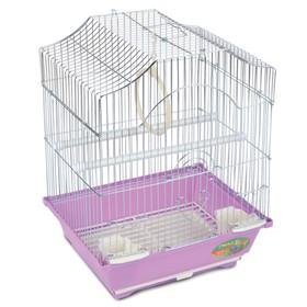 Клетка Triol  N 2112 для птиц, цинк, 30*23*39 см