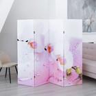 """Ширма """"Орхидея и капли воды"""" 200 × 160см"""