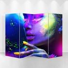 """Ширма """"Краски"""" 200 × 160см, двухсторонняя"""