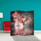 """Screen """"Orchid. Water surface"""", 160 × 150 cm"""