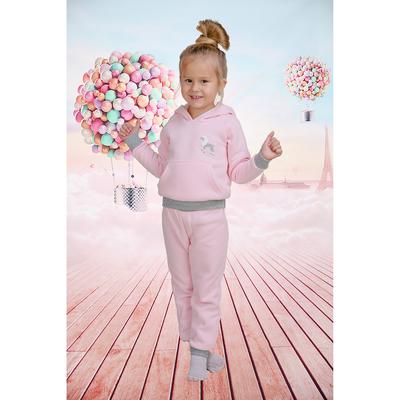 Костюм детский Ласка, рост 122 см, цвет розовый ДК-001