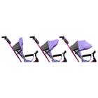 """Велосипед трёхколёсный «Лучик Vivat 1», надувные колёса 10""""/8"""", цвет фиолетовый - фото 983944"""