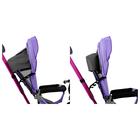"""Велосипед трёхколёсный «Лучик Vivat 1», надувные колёса 10""""/8"""", цвет фиолетовый - фото 983945"""