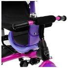 """Велосипед трёхколёсный «Лучик Vivat 1», надувные колёса 10""""/8"""", цвет фиолетовый - фото 983949"""