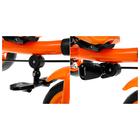 """Велосипед трёхколёсный «Лучик Vivat 2», колёса EVA 10""""/8"""", цвет оранжевый - фото 105546918"""