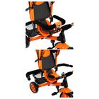 """Велосипед трёхколёсный «Лучик Vivat 2», колёса EVA 10""""/8"""", цвет оранжевый - фото 105546919"""