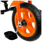 """Велосипед трёхколёсный «Лучик Vivat 2», колёса EVA 10""""/8"""", цвет оранжевый - фото 105546920"""