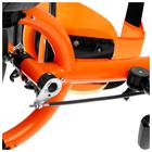 """Велосипед трёхколёсный «Лучик Vivat 2», колёса EVA 10""""/8"""", цвет оранжевый - фото 105546922"""