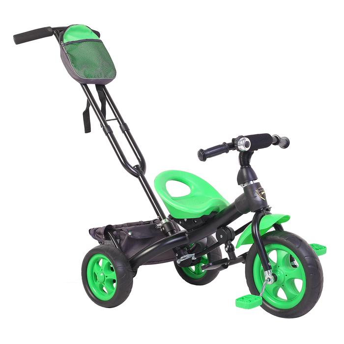 Велосипед трёхколёсный «Лучик Vivat 3», цвет зелёный