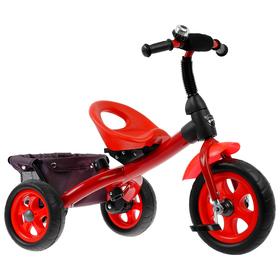 Велосипед трёхколёсный «Лучик Vivat 4», цвет красный