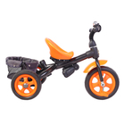 Велосипед трёхколёсный «Лучик Vivat 4», цвет оранжевый - фото 1066204