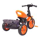 Велосипед трёхколёсный «Лучик Vivat 4», цвет оранжевый - фото 1066205