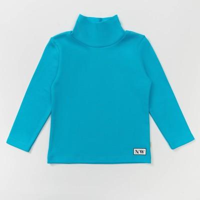 Водолазка для мальчика, рост 122 см, цвет  цвет бирюзовый Н-БН-168ИА