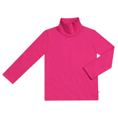 Водолазка для девочки, рост 98 см, цвет  цвет малиновый (аппликация) Н-БН-168ИА