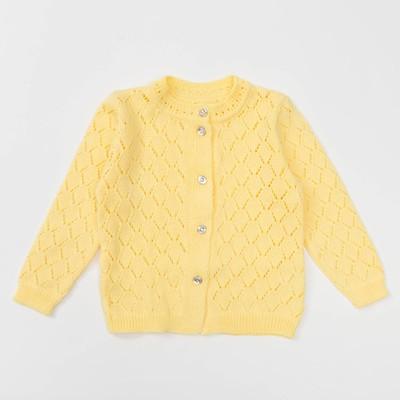 """Жакет детский """"Принцесса"""", рост 98-104 см, цвет жёлтый 022288_М"""