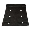 Материал укрывной, 10 х 1.6 м, мульчирующий, перфорированный, плотность 60 г/м², УФ, чёрный